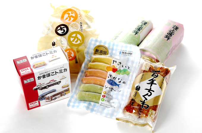 assorted kamaboko