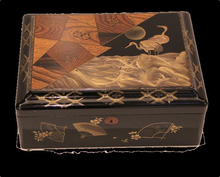 smal yosegi box