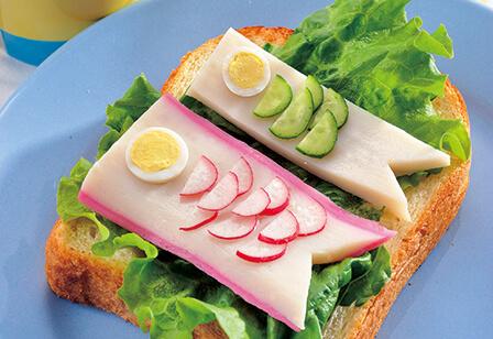 トーストで端午の節句