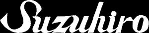 suzuhiro_logo white